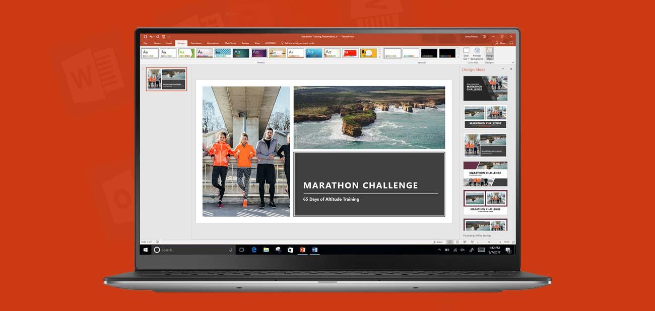 Microsoft Office 365 Personal prezentacje