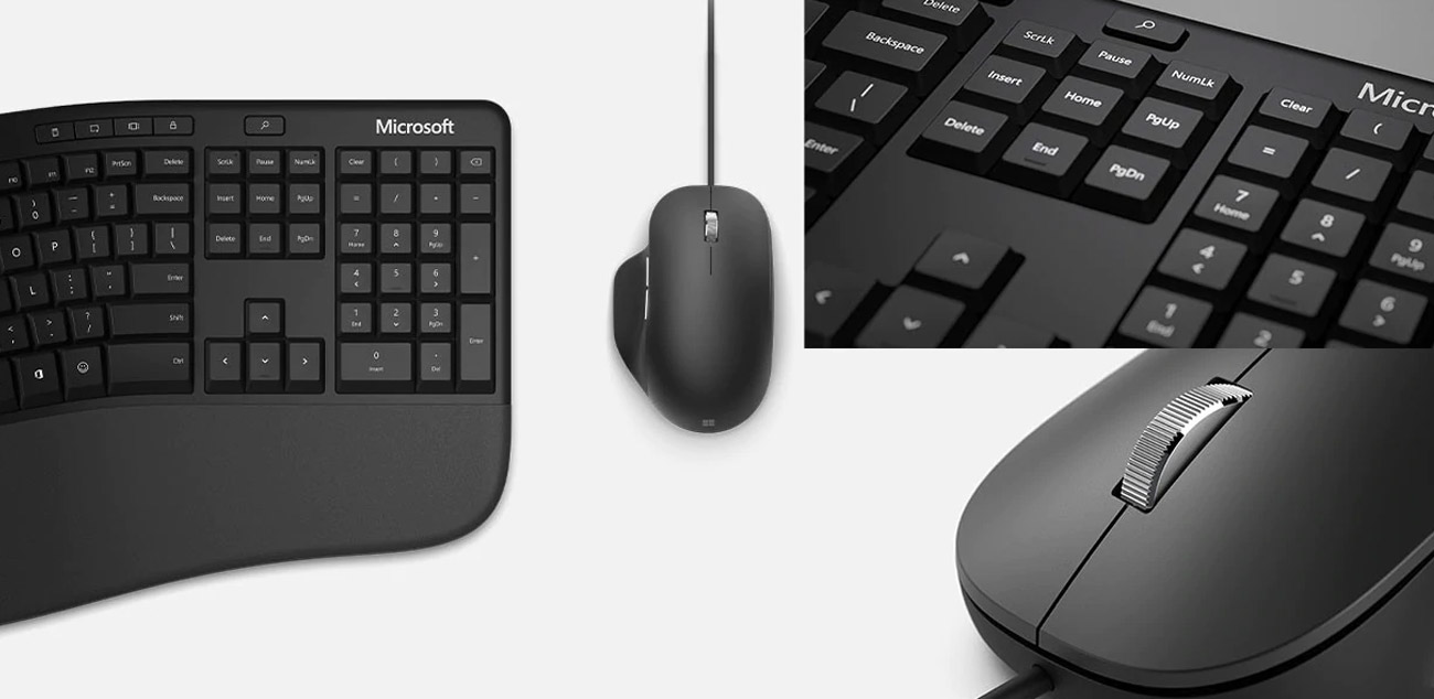 Zestaw Microsoft Ergonomic Desktop