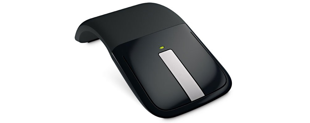 Die mobile Maus mit Touch Scrolling Microsoft ARC Mouse Schwarz RVF 00050