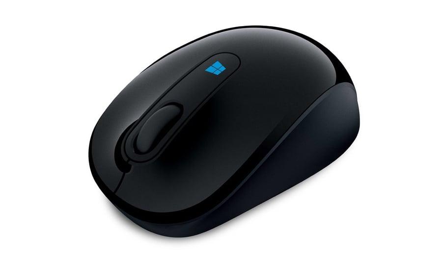 Myszka bezprzewodowa Microsoft Sculpt Mobile Mouse czarna 43U-00003