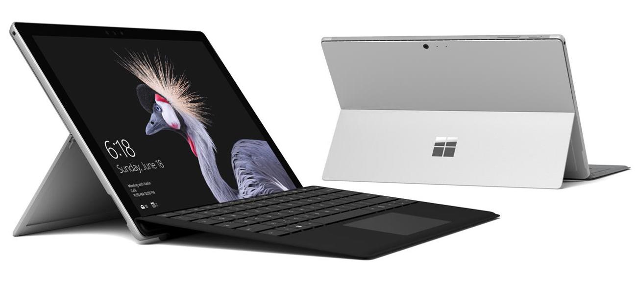 Procesor Intel Core w Microsoft Surface Pro