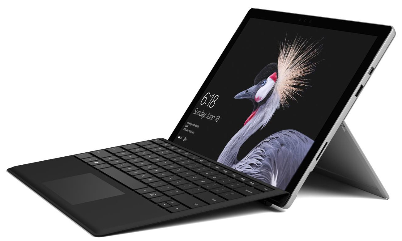 Microsoft Surface Pro tryby pracy