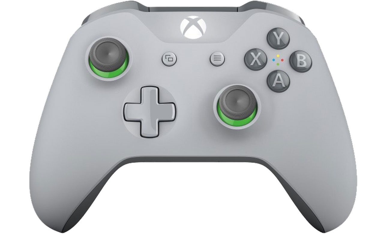 Kontroler bezprzewodowy Xbox szaro-zielony