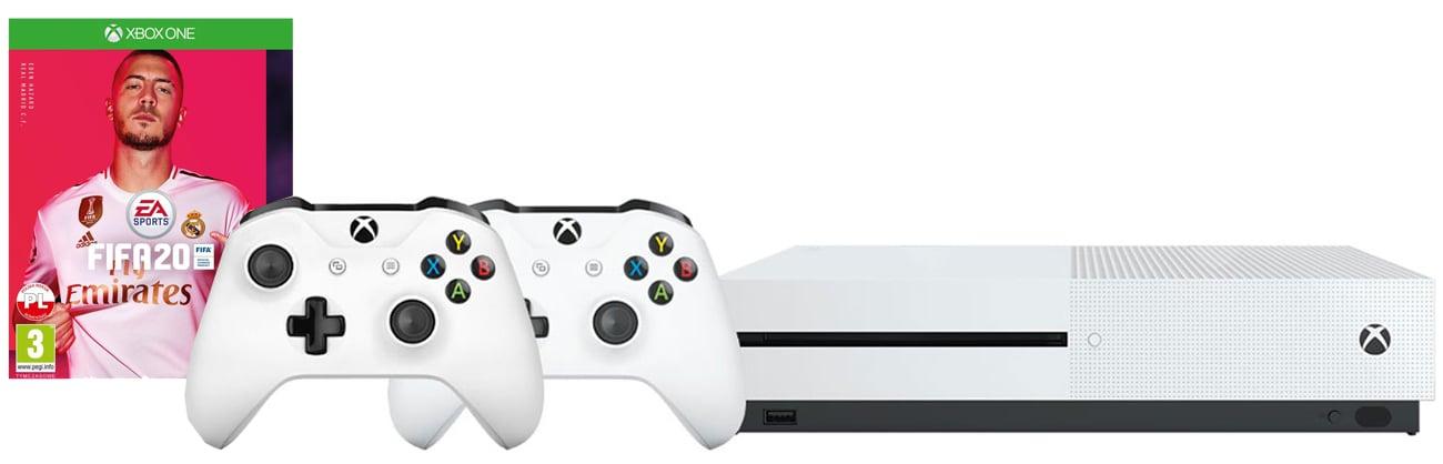 Zestaw Xbox One S + Pad + FIFA 20
