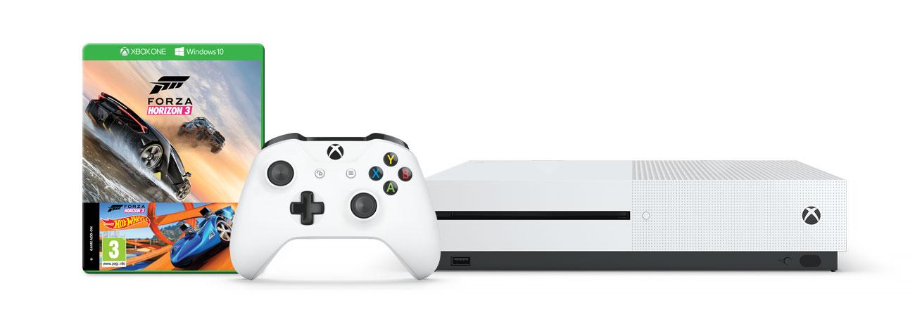 Zestaw Xbox One S i Forza Horizon 3+Hot Wheels