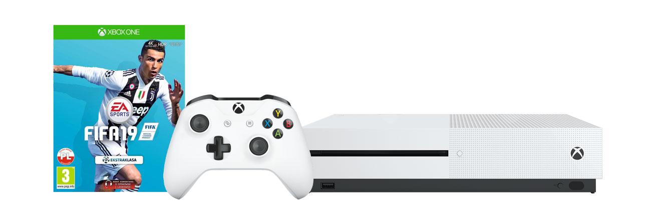 Zestaw Xbox One S i FIFA19