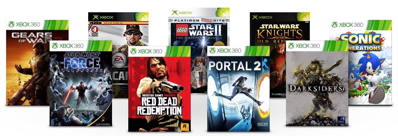 Microsoft Xbox ONE S - Kompatybilność wsteczna