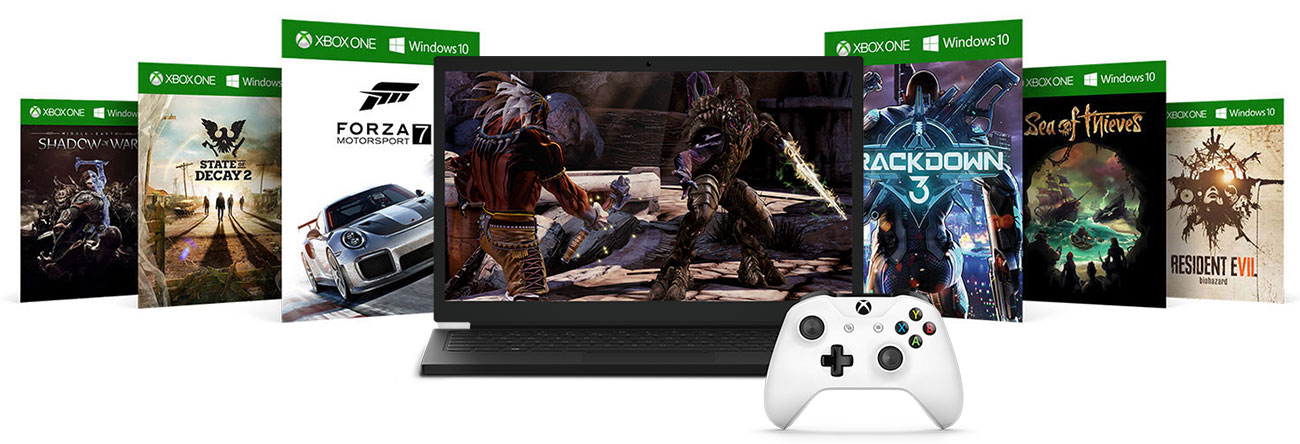 Microsoft Xbox ONE S - Xbox Play Anywhere