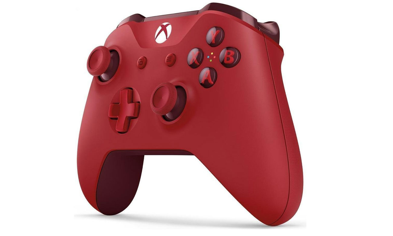 Kontroler bezprzewodowy Xbox One S Czerwony