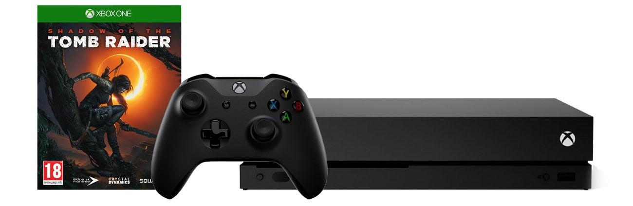 Zestaw Xbox One X i Shadow of the Tomb Raider