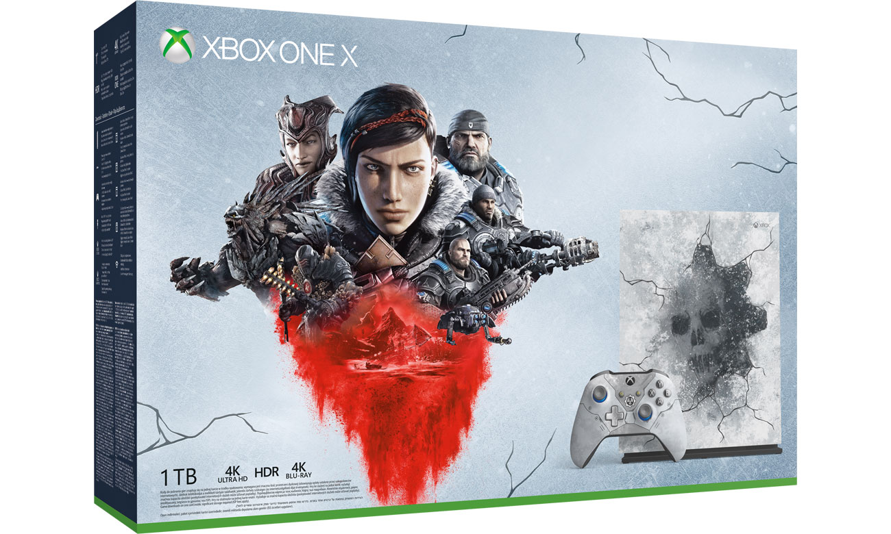 Zestaw Xbox One X Edycja Limitowana Gears 5