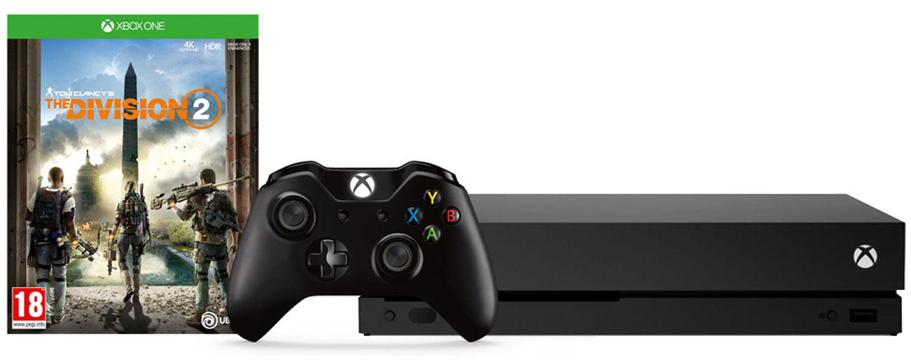 Zestaw Xbox One X i Tom Clancy's The Division 2