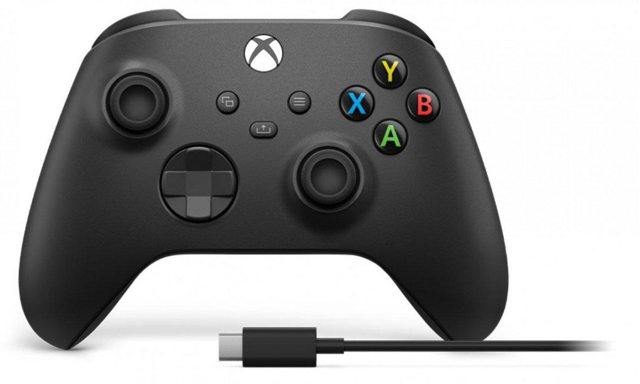 Kontroler bezprzewodowy Xbox Series + Kabel PC