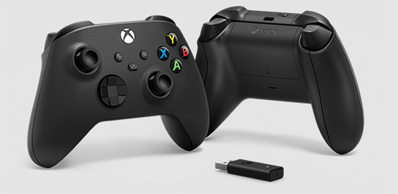 Kontroler Microsoft Xbox Wireless Controller + Adapter