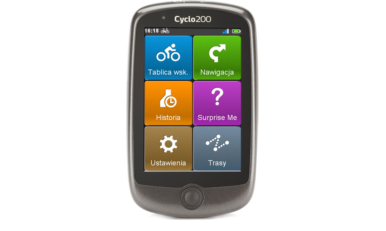 Nawigacja rowerowa Mio Cyclo 200 Europa
