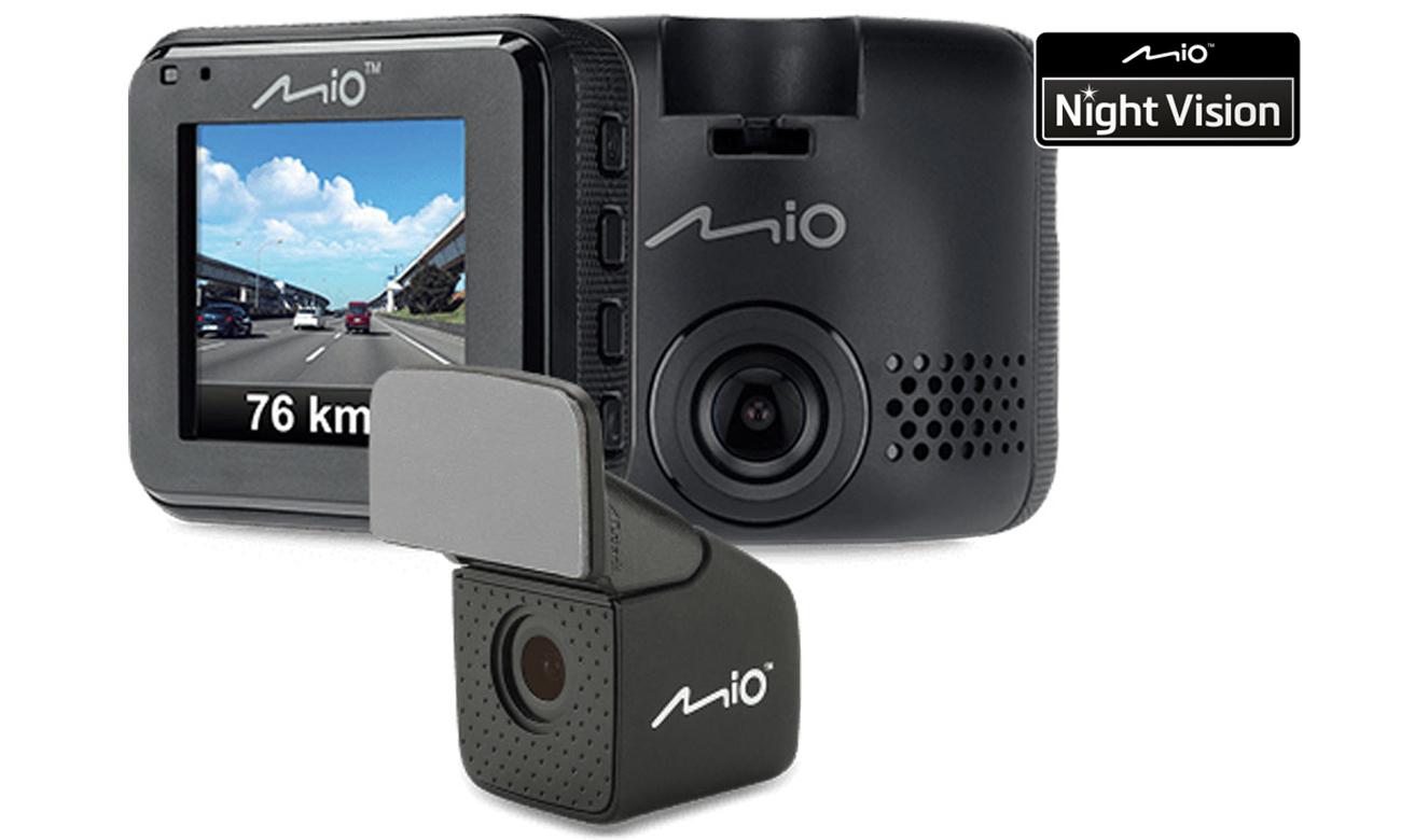 Wideorejestrator Mio MiVue C380 Dual