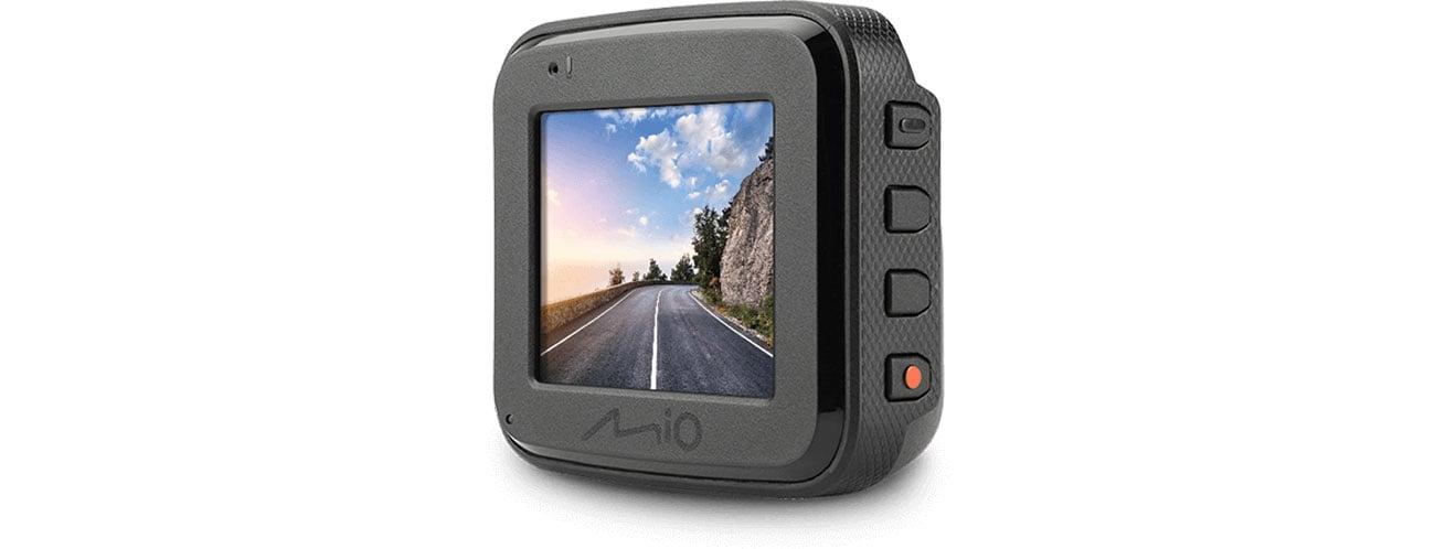 Mio MiVue C560 - Ekran, sterowanie