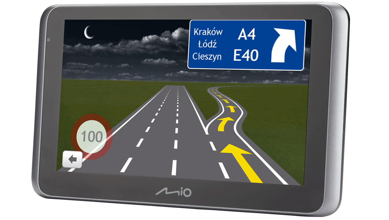 Asystent pasa ruchu i widok skrzyżowań w 3D
