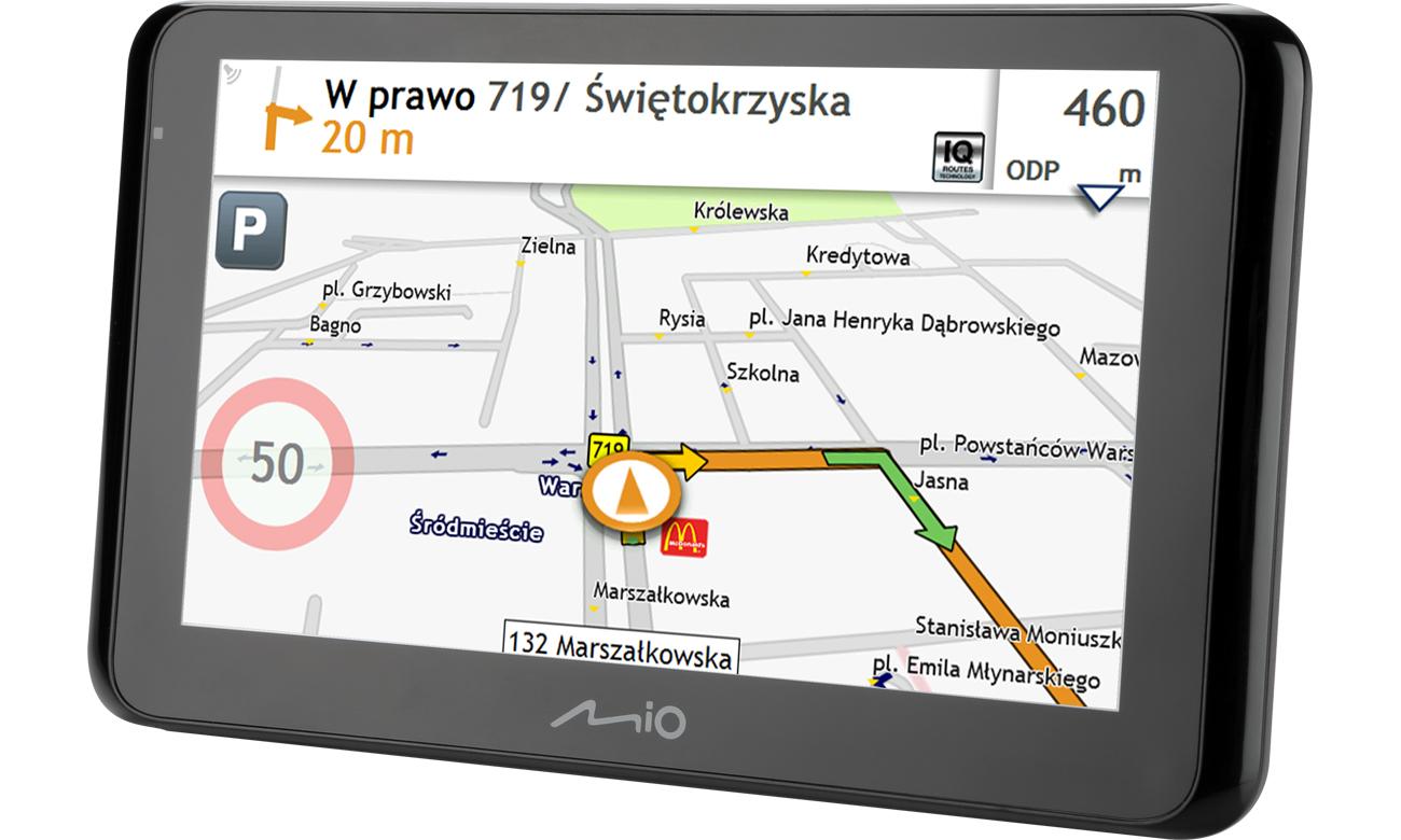 Nawigacja GPS Mio Spirit 8670 6,2 Europa Dożywotnia 5262N5380009