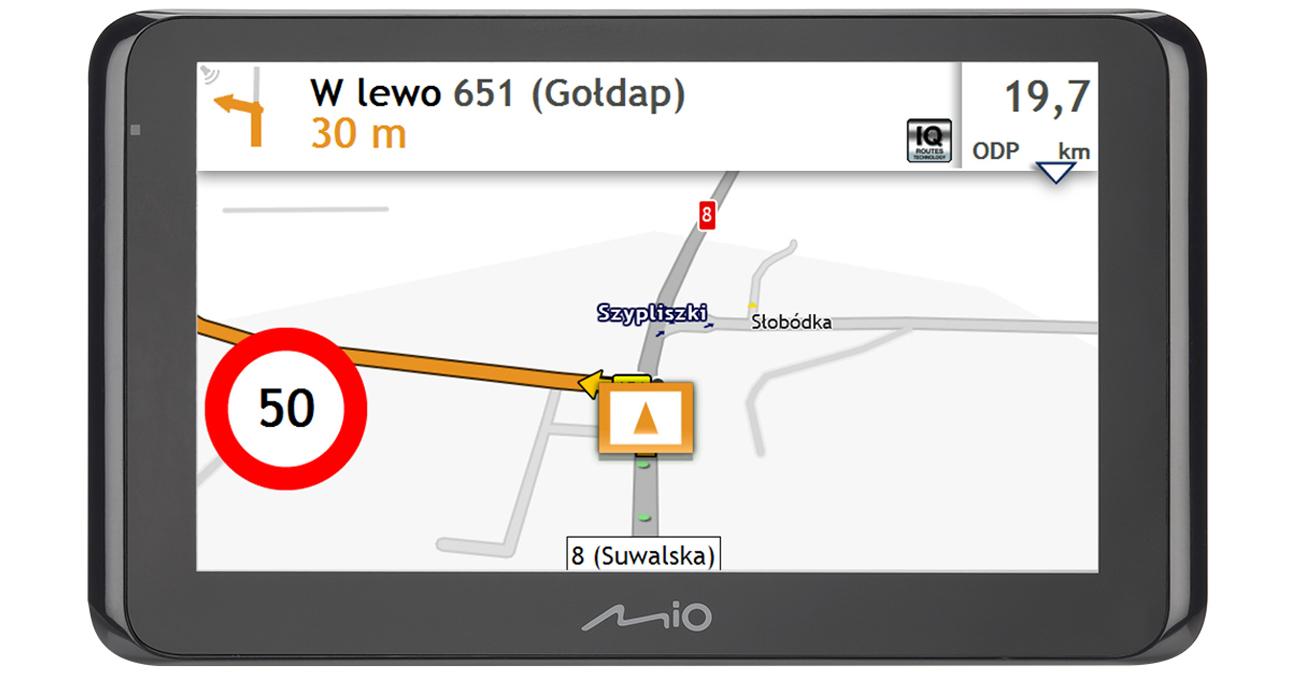 Nawigacja GPS Mio Spirit 8670 6,2 Truck Europa Dożywotnia 5262N5380010