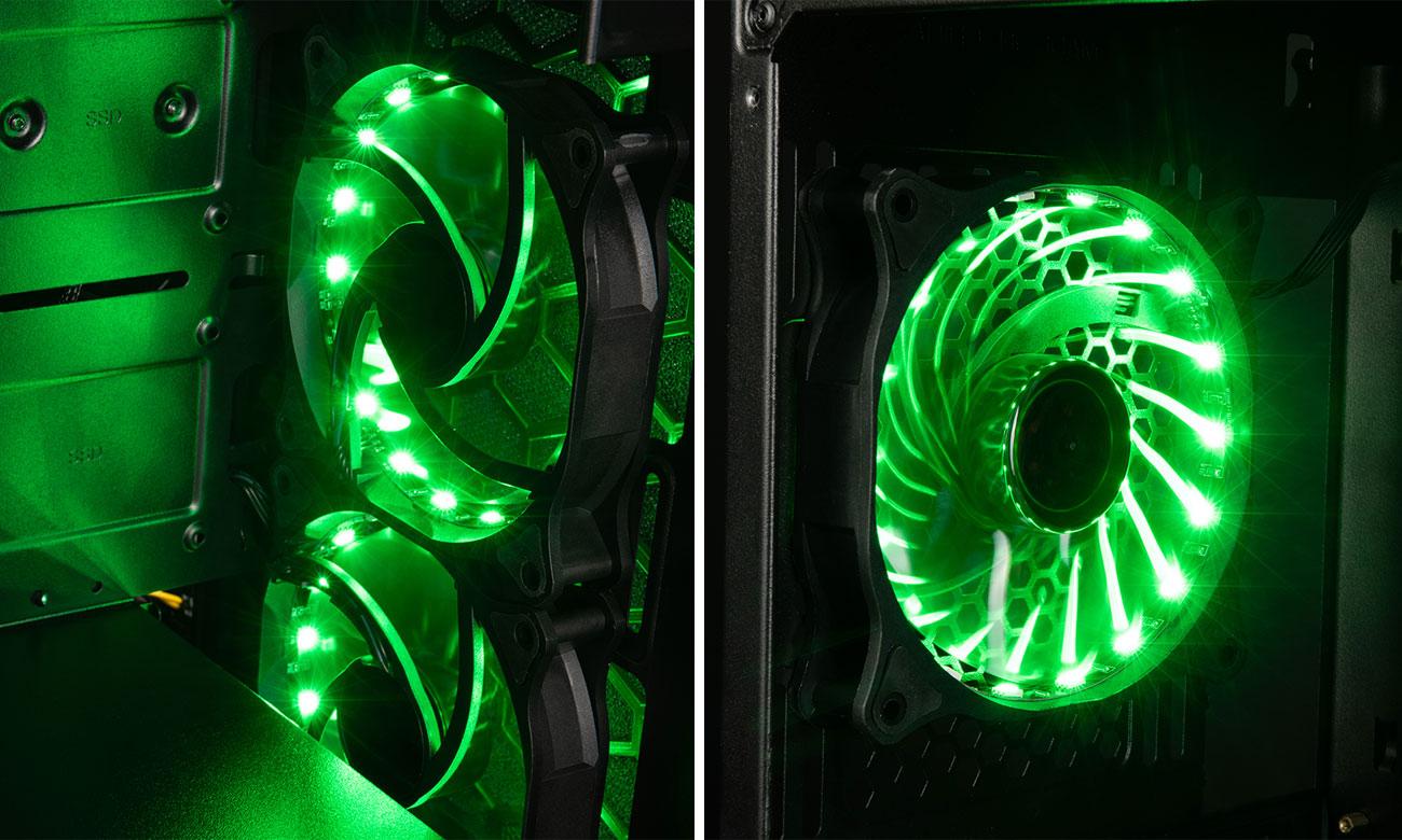 MODECOM Rea Glass RGB Podświetlenie