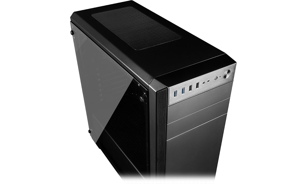 MODECOM OBERON PRO GLASS USB 3.0 czarna