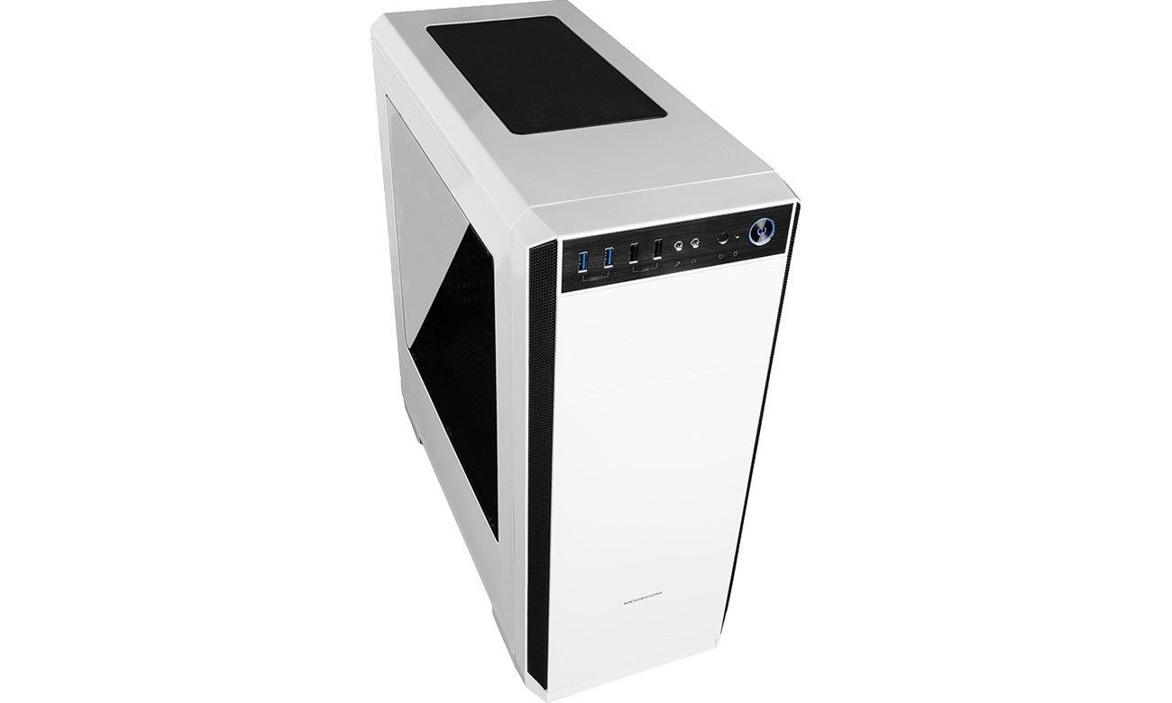 Obudowa MODECOM OBERON PRO USB 3.0 biała AT-OBERON-PR-20-000000-0002