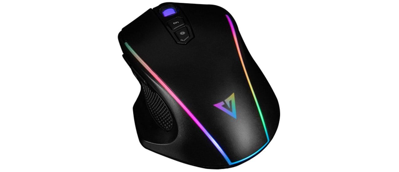 Mysz dla graczy MODECOM VOLCANO GM5 BLACK