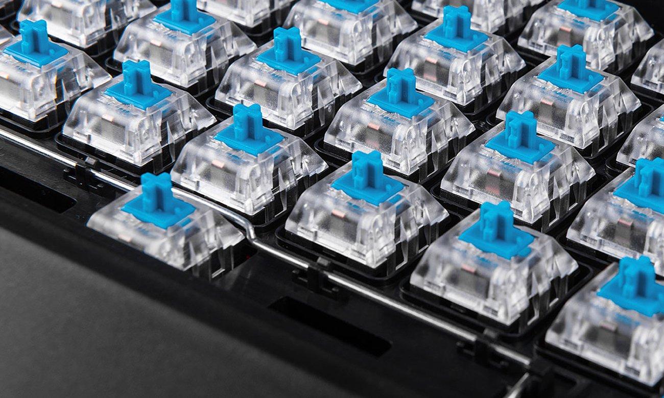 MODECOM Volcano Gamer Niebieskie Przełączniki