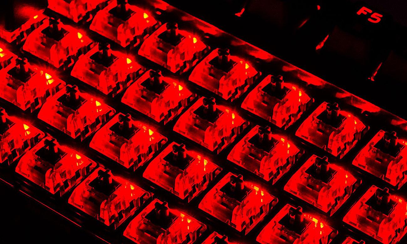 MODECOM Volcano Gamer Podświetlenie LED