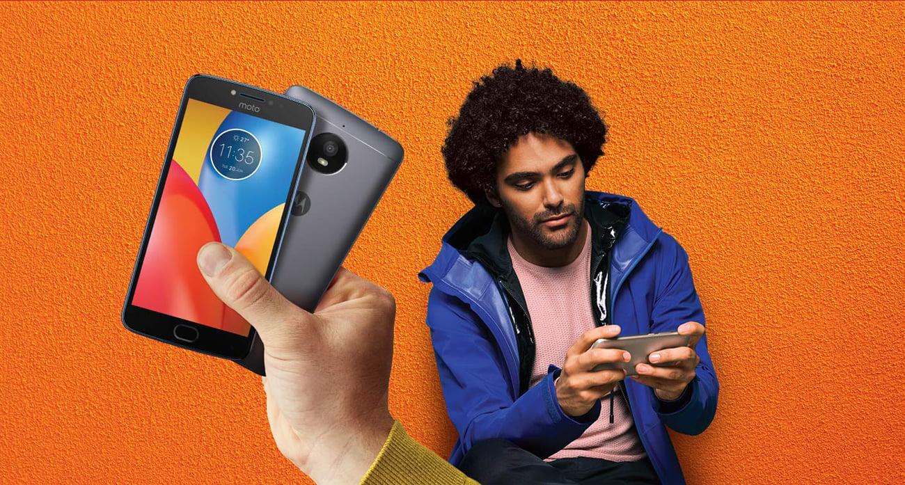 Szara Motorola Moto E4 Plus ekran 5.5'' HD IPS
