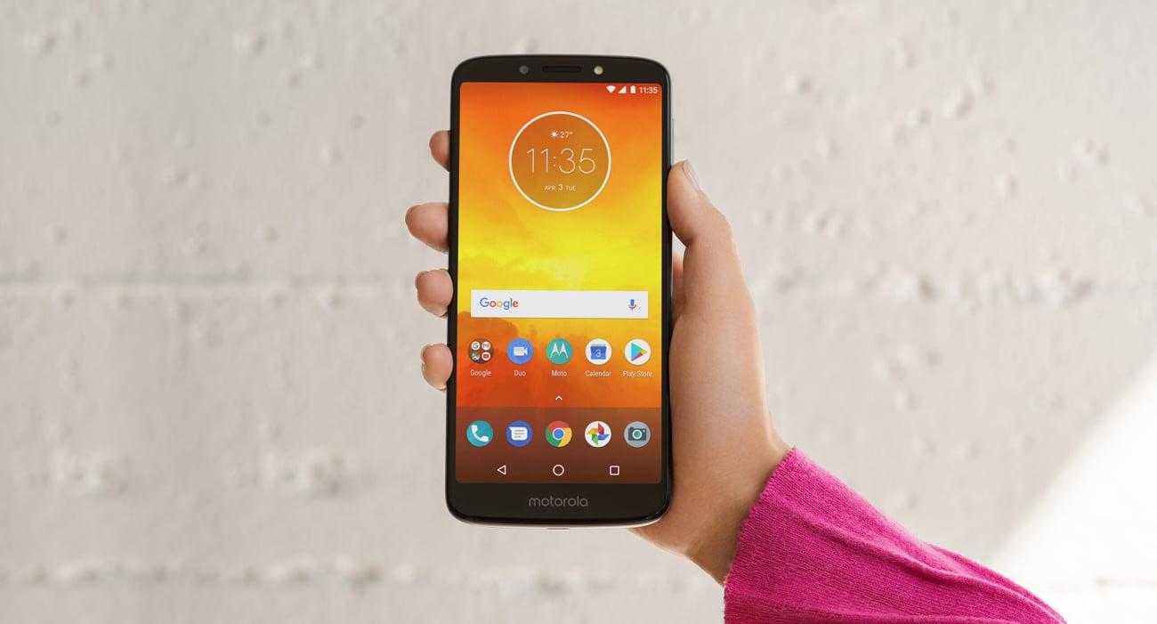 Motorola Moto E5 intuicyjne gesty
