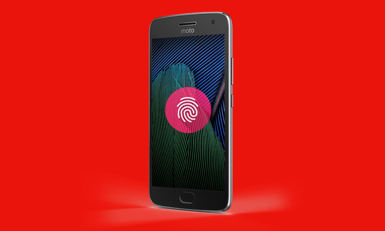 Motorola Moto G 5 Gen. Plus czytnik linii papilarnych
