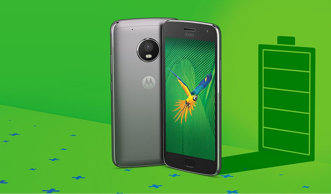 Motorola Moto G 5 Gen. Plus mocna bateria fast charge