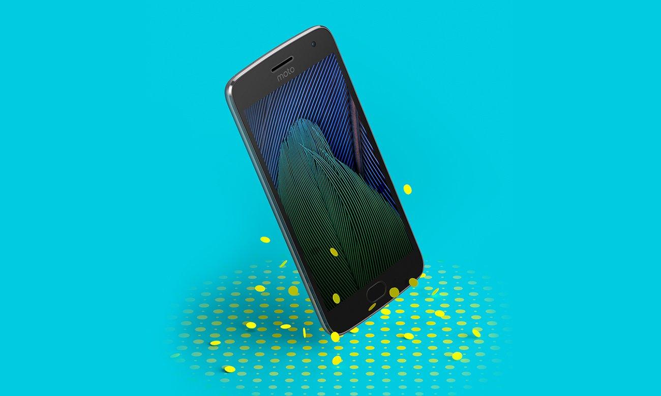Motorola Moto G 5 Gen. Plus odporny na zachlapanie