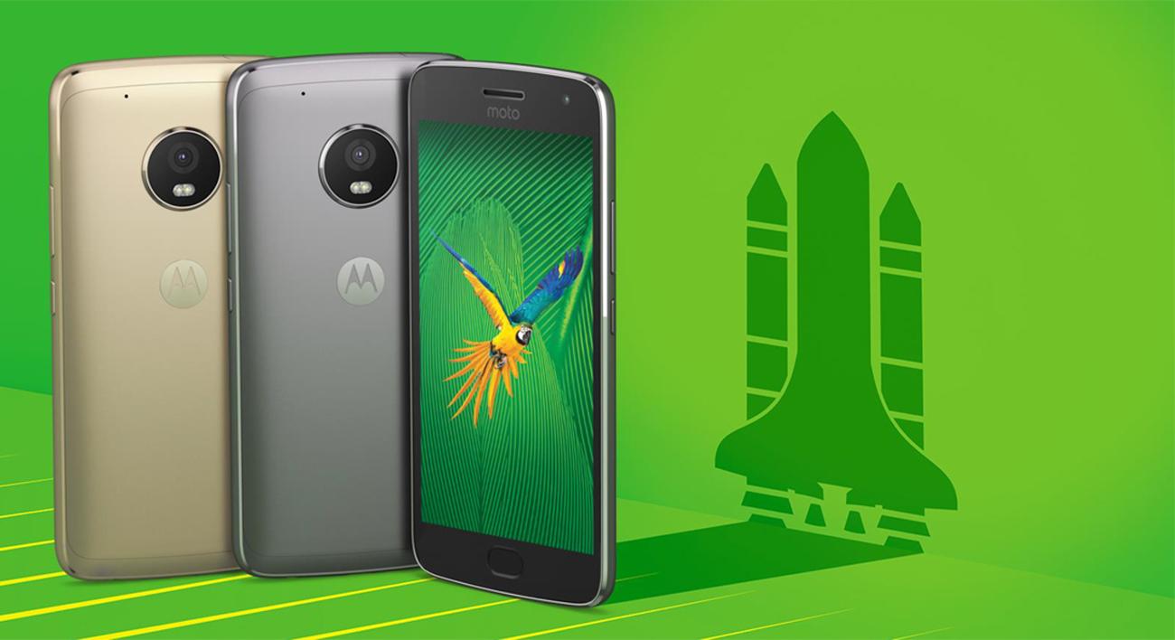 Motorola Moto G 5 Gen. Plus obsługa gestów