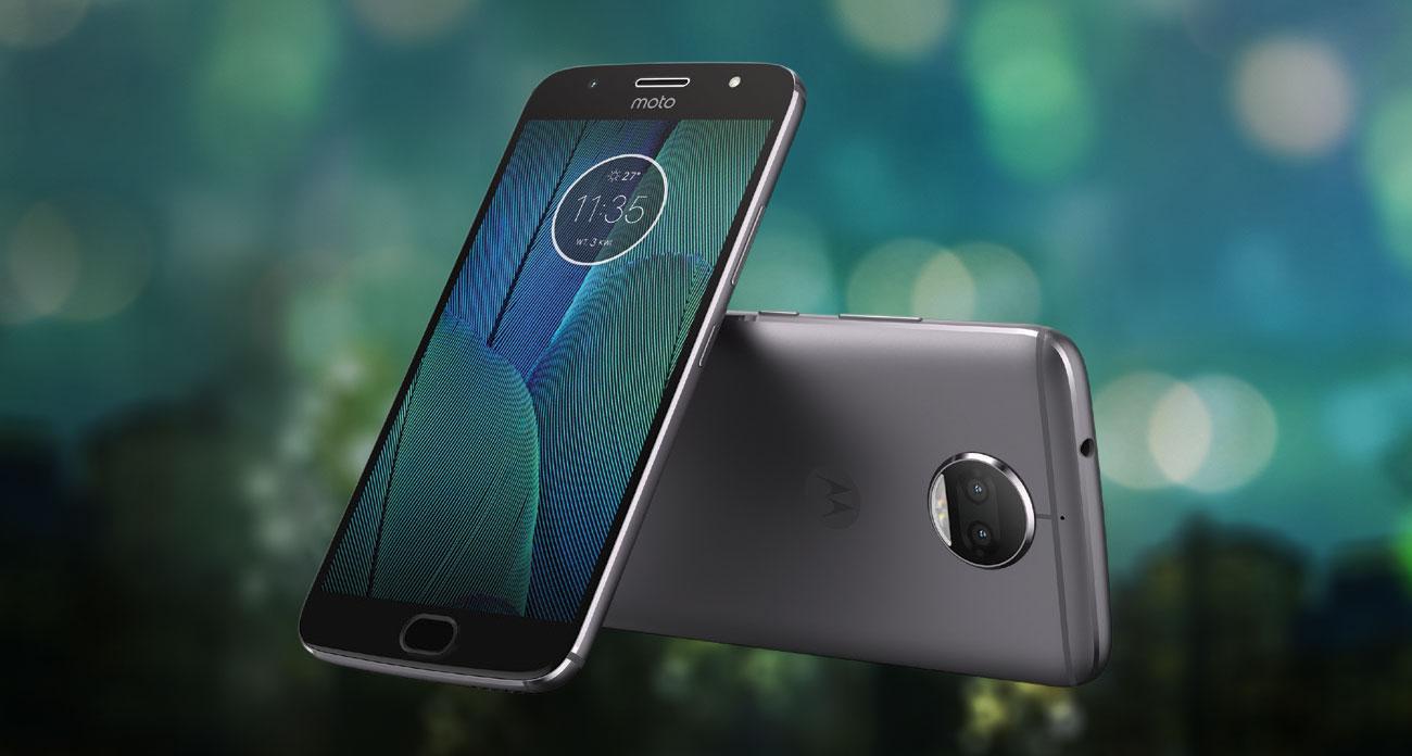 szary Motorola Moto G5S Plus metalowa obudowa