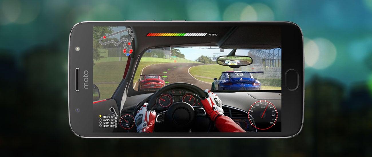 szary motorola Moto G5S Plus ośmiordzeniowy procesor Snapdragon 625