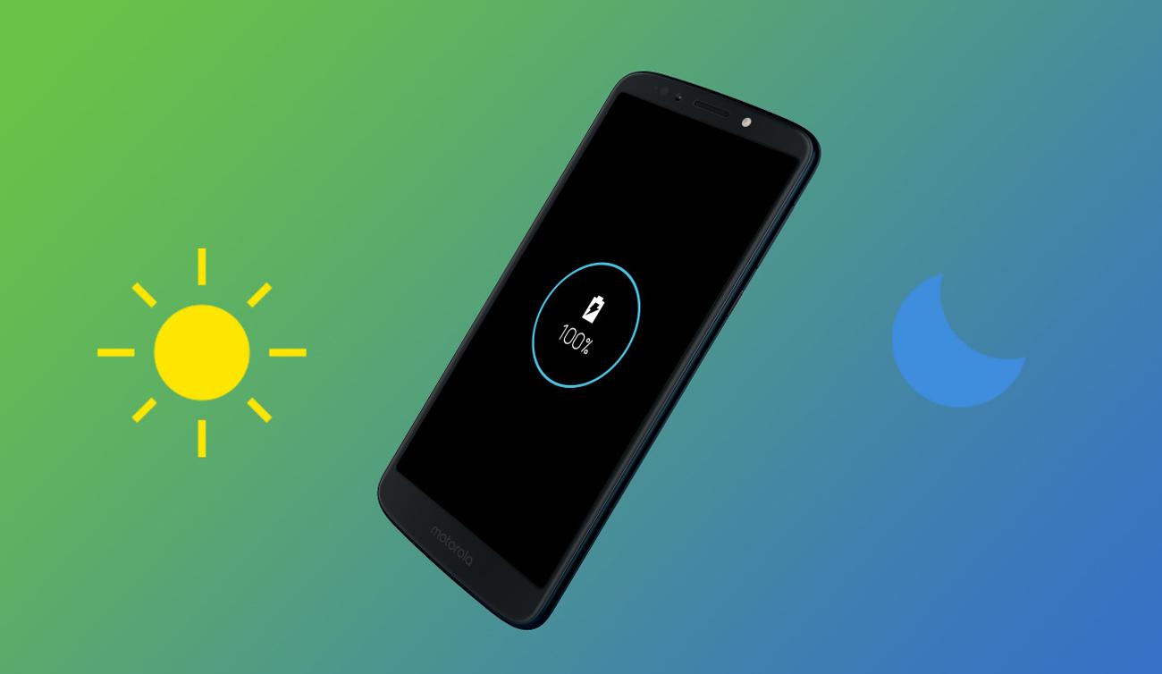 Motorola Moto G6 Play bateria 4000 mAh z turbopower