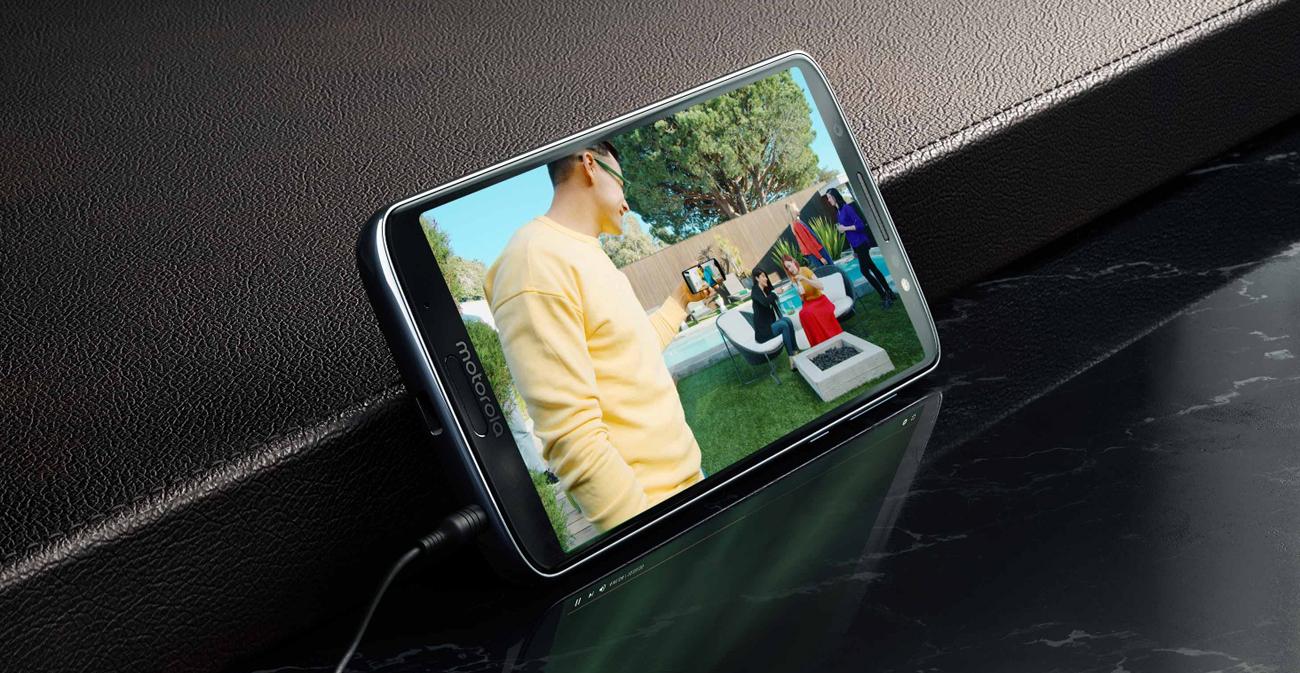 Motorola Moto G6 Plus ekran max vision 18:9