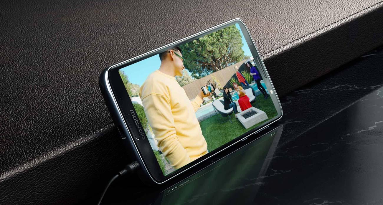 Motorola Moto G6 plus inteligentne funkcje