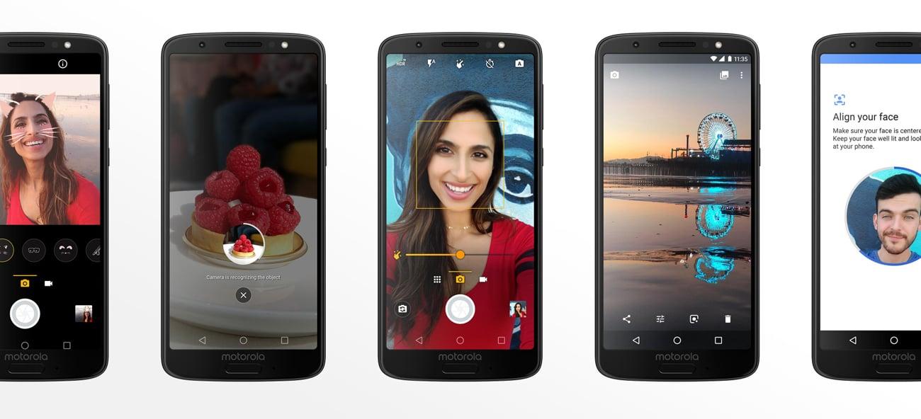Motorola Moto G6 aparat 12+5 mpix