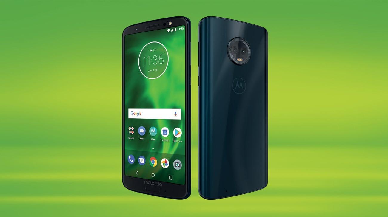 Motorola Moto G6 inteligentne funkcje