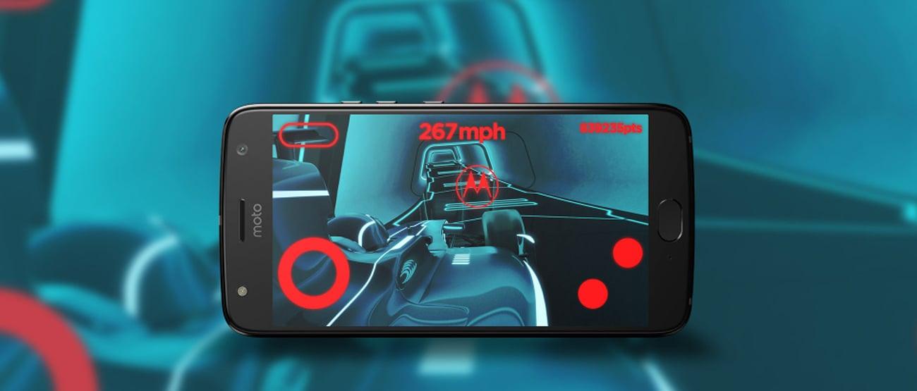 szary motorola Moto G5S Plus ekran 5.5 full HD