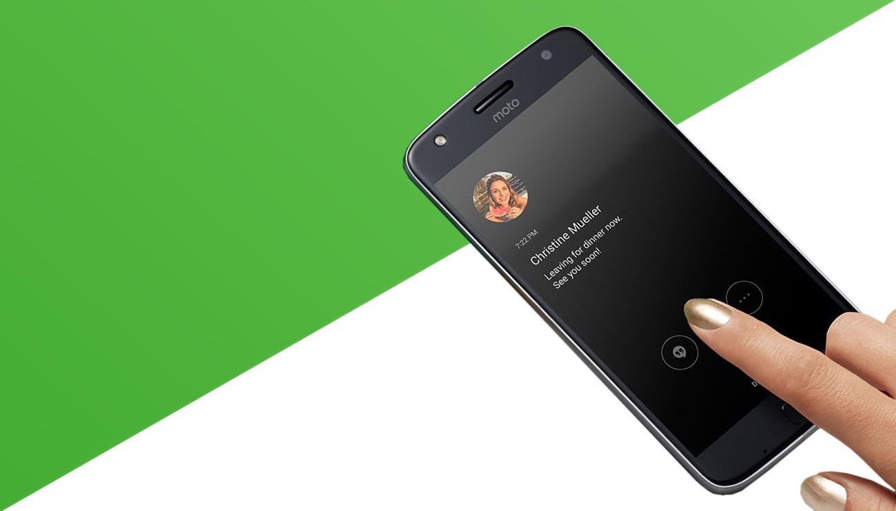 Lenovo Moto Z Play android 6.0 Marshmallow