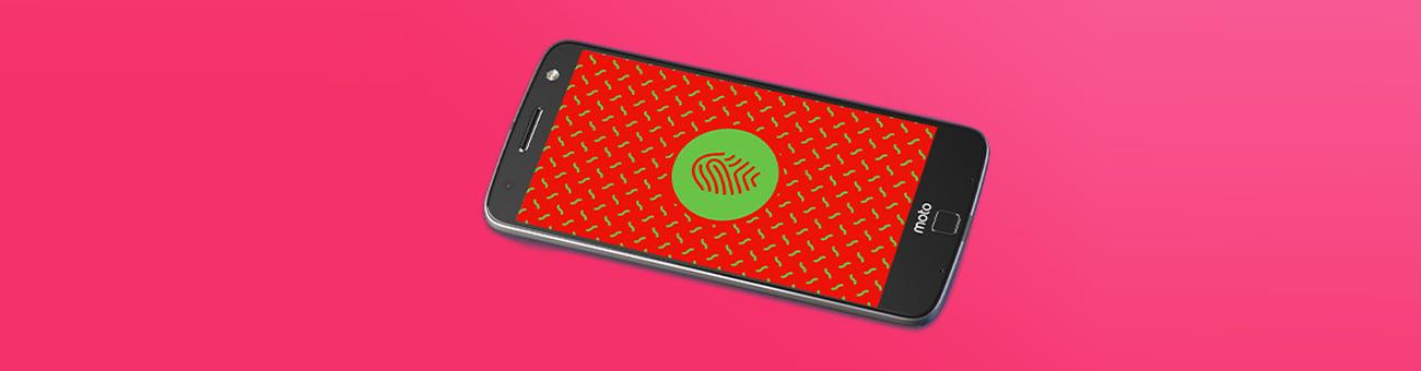 Motorola Moto Z Czytnik linii papilarnych
