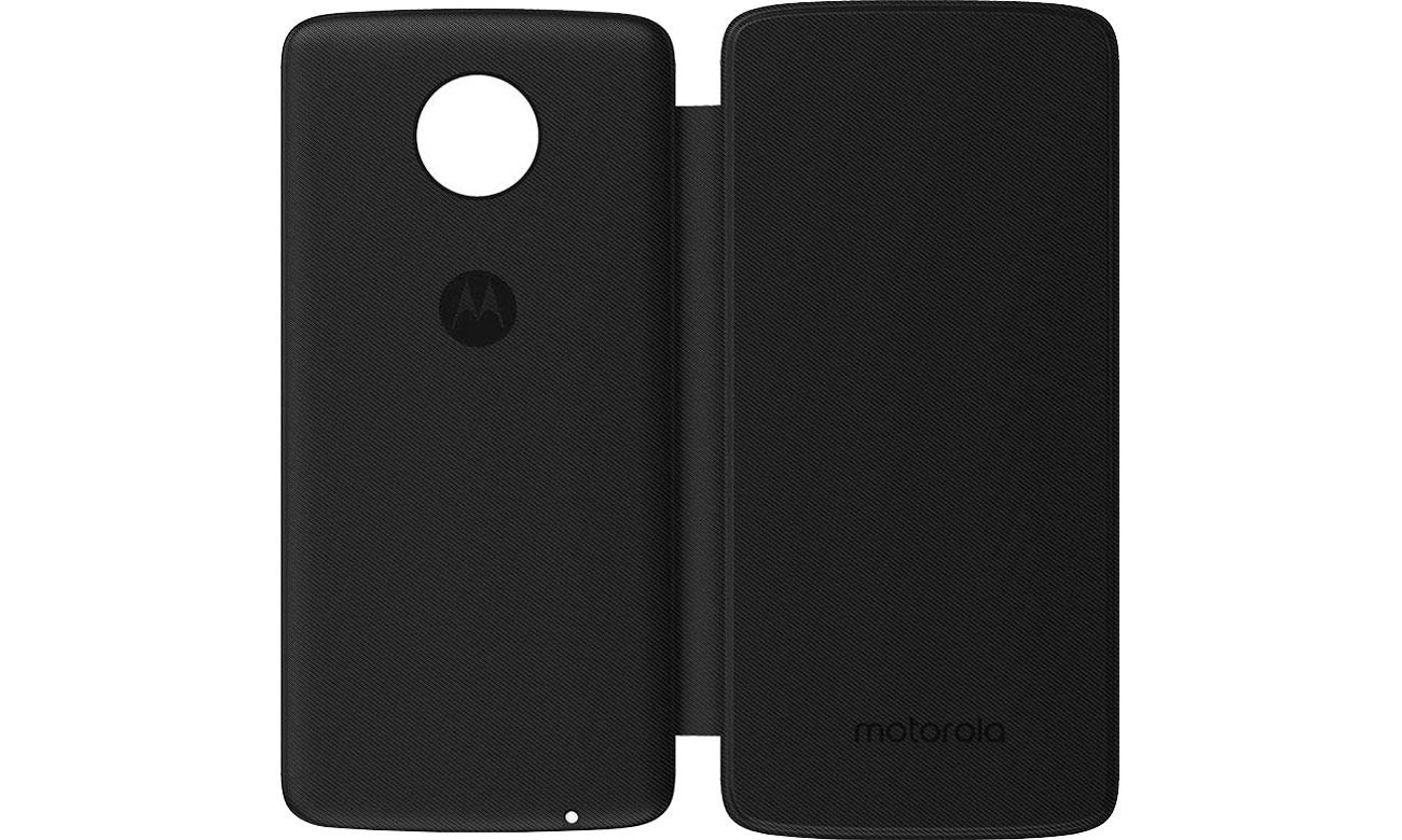 Motorola Etui z Klapką Moto Folio czarny PG38C02336