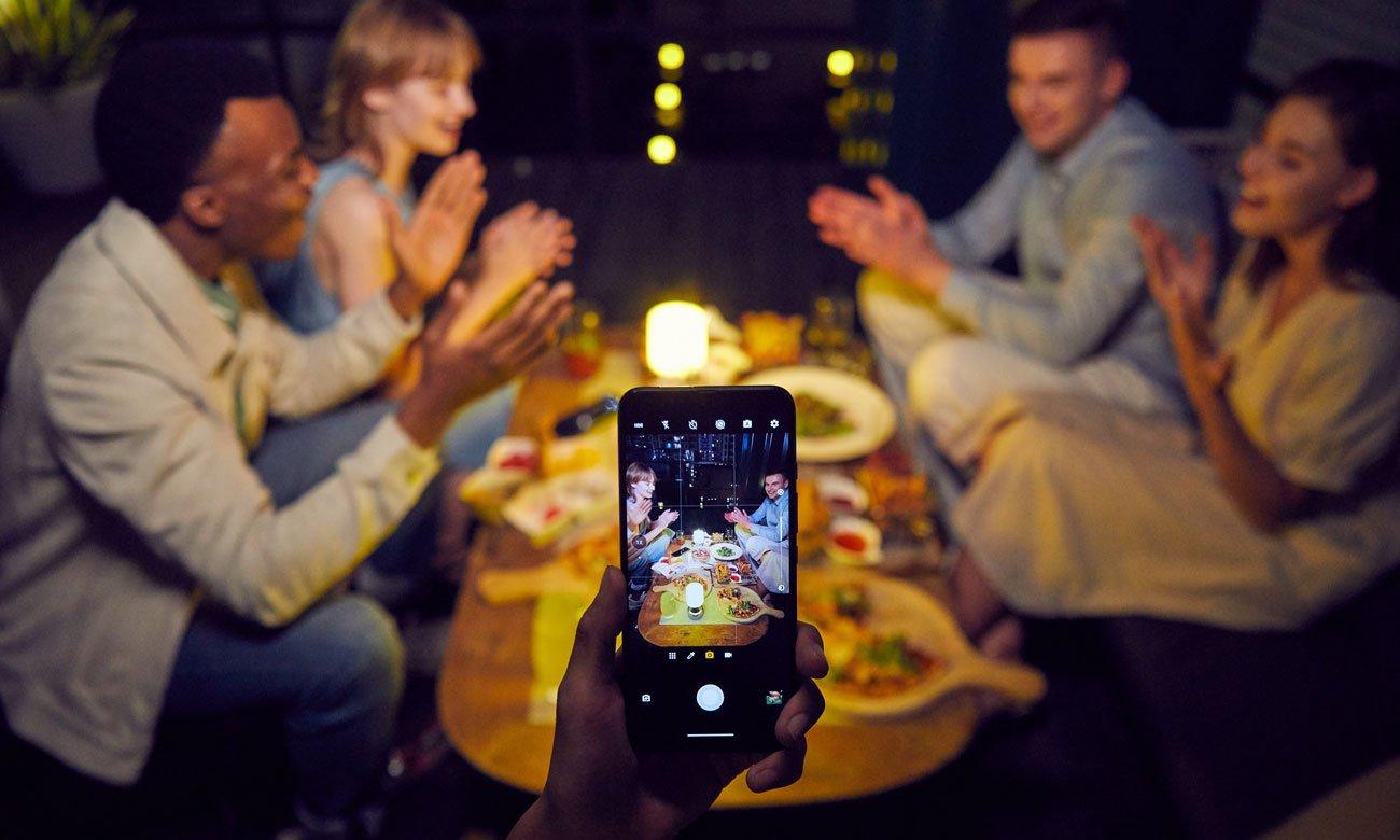 Das Smartphone mit 48 MP Vierfach Kamerasystem MOTOROLA Moto G 5G Plus 128GB Surfing Blue