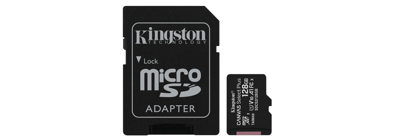 zestaw karta microSD