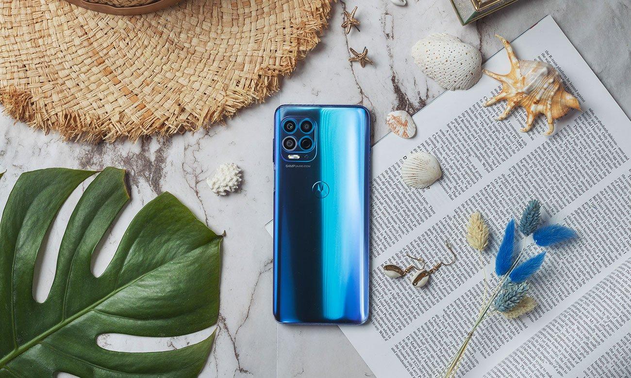 Motorola Moto G100 niebieska obudowa